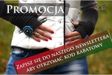 Promocja - Zapisz się do newslettera aby otrzymać kod rabatowy